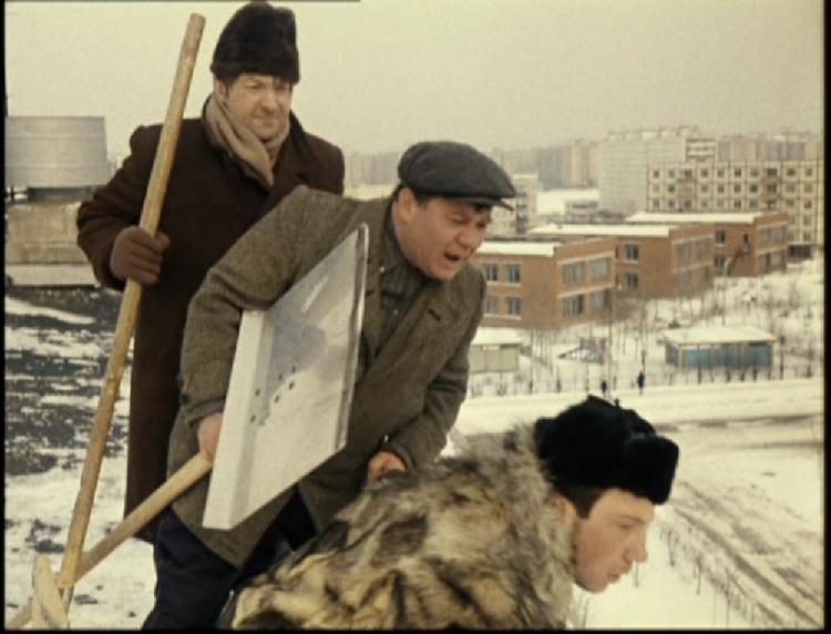 Чистка снега в фильмах