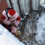 альпинист дед мороз