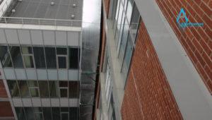 Труба воздуховода вид с крыши