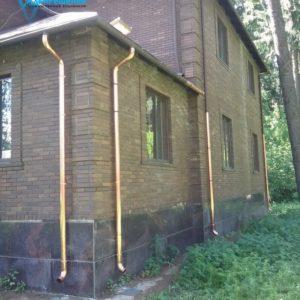 Монтаж водосточной трубы расценка