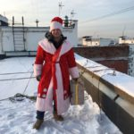 дед мороз альпинист