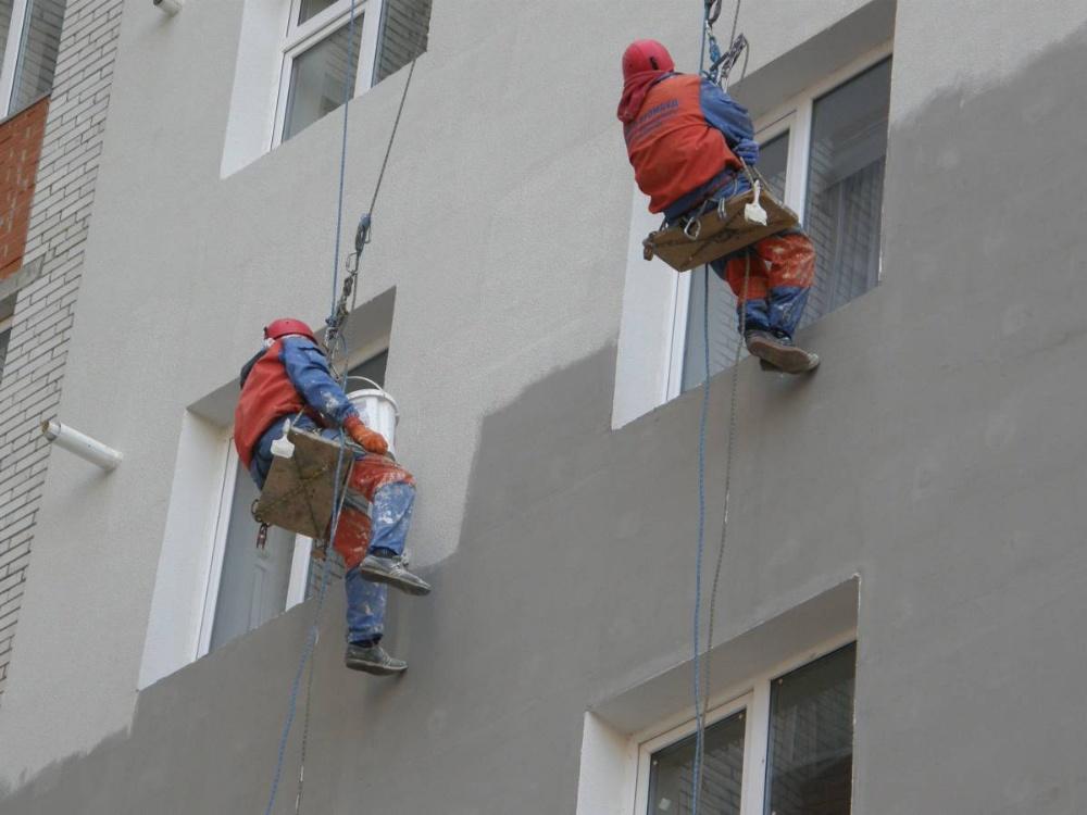 Утепление фасада и штукатурка