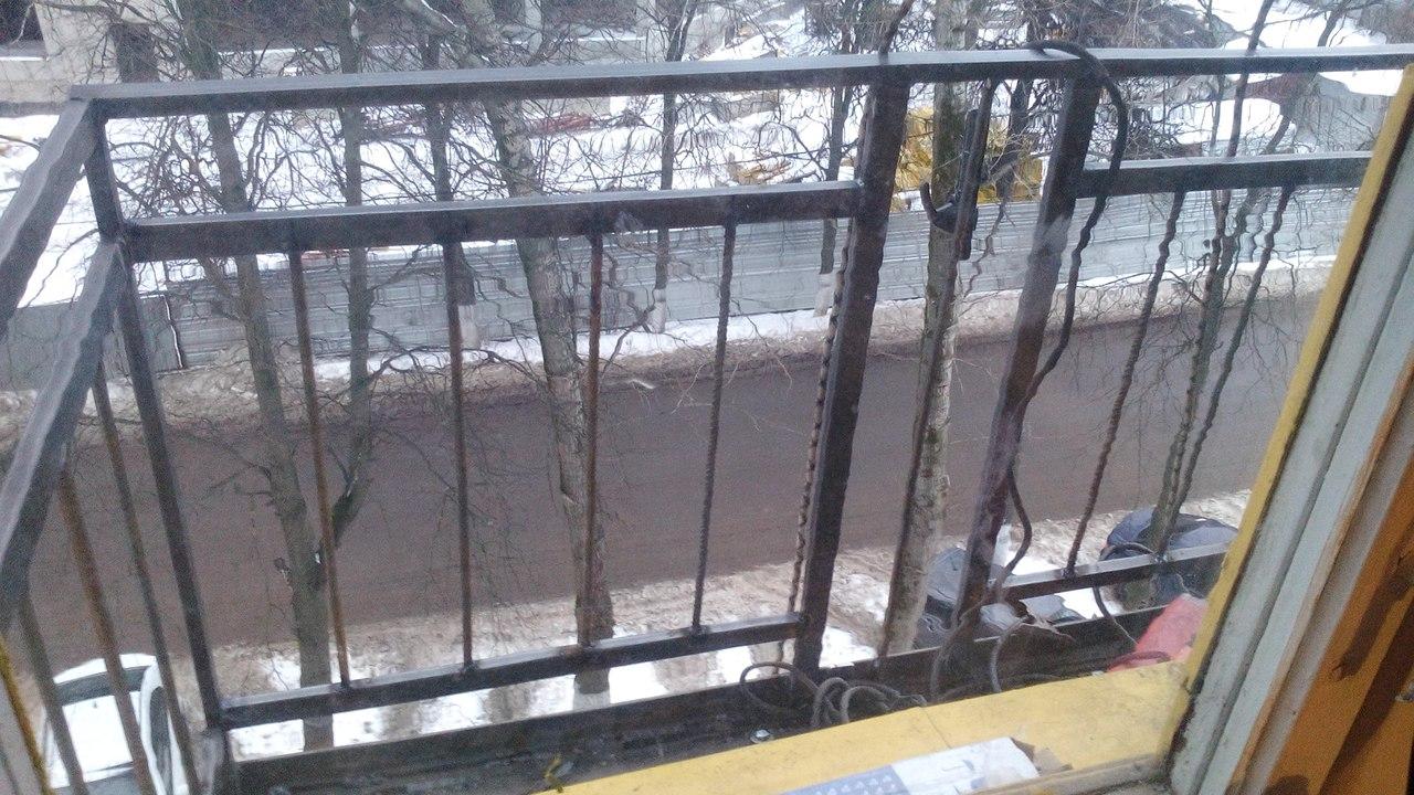 сварка балконного ограждения