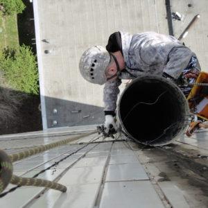 Альпрешение демонтаж воздуховода