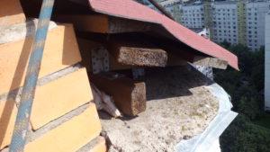 Ошибки при монтаже кровли балкона