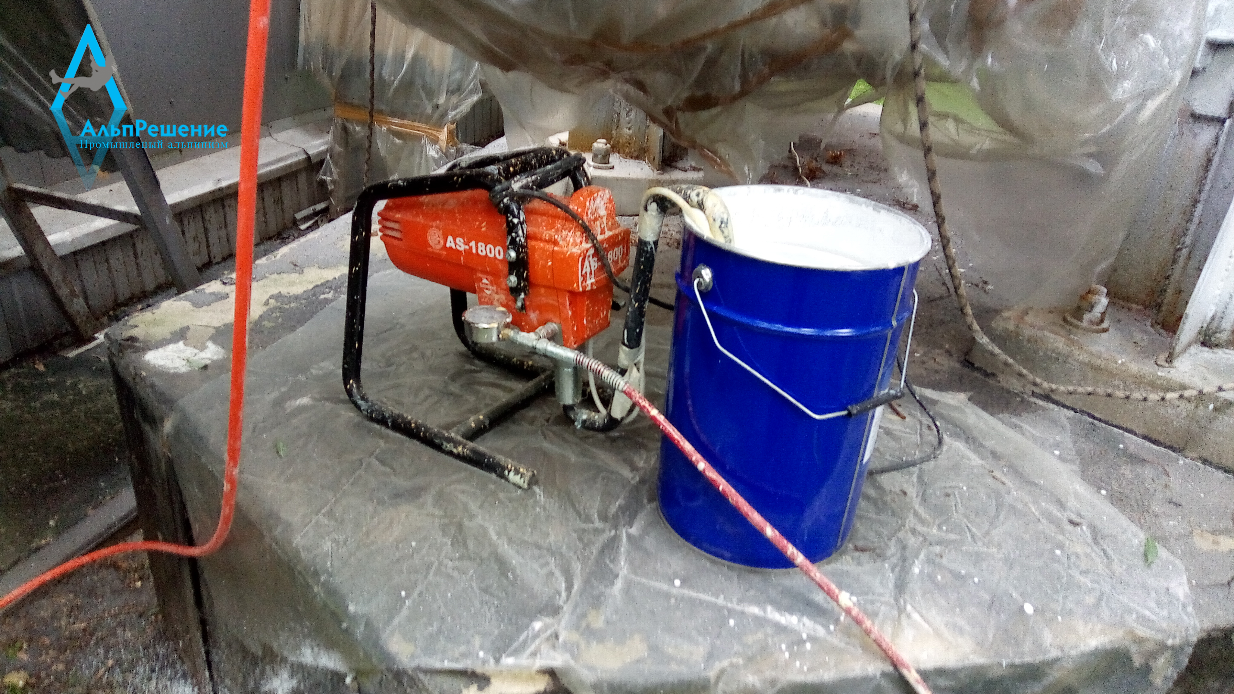 Профессиональное оборудование для проведения покрасочных работ