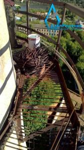Ремонт бетонной трубы