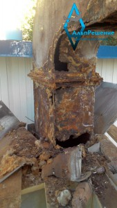 Ремонт дымовых труб