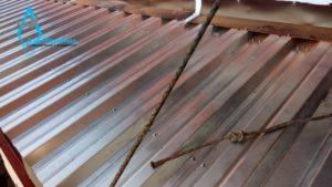 Профлист на крышу балкона