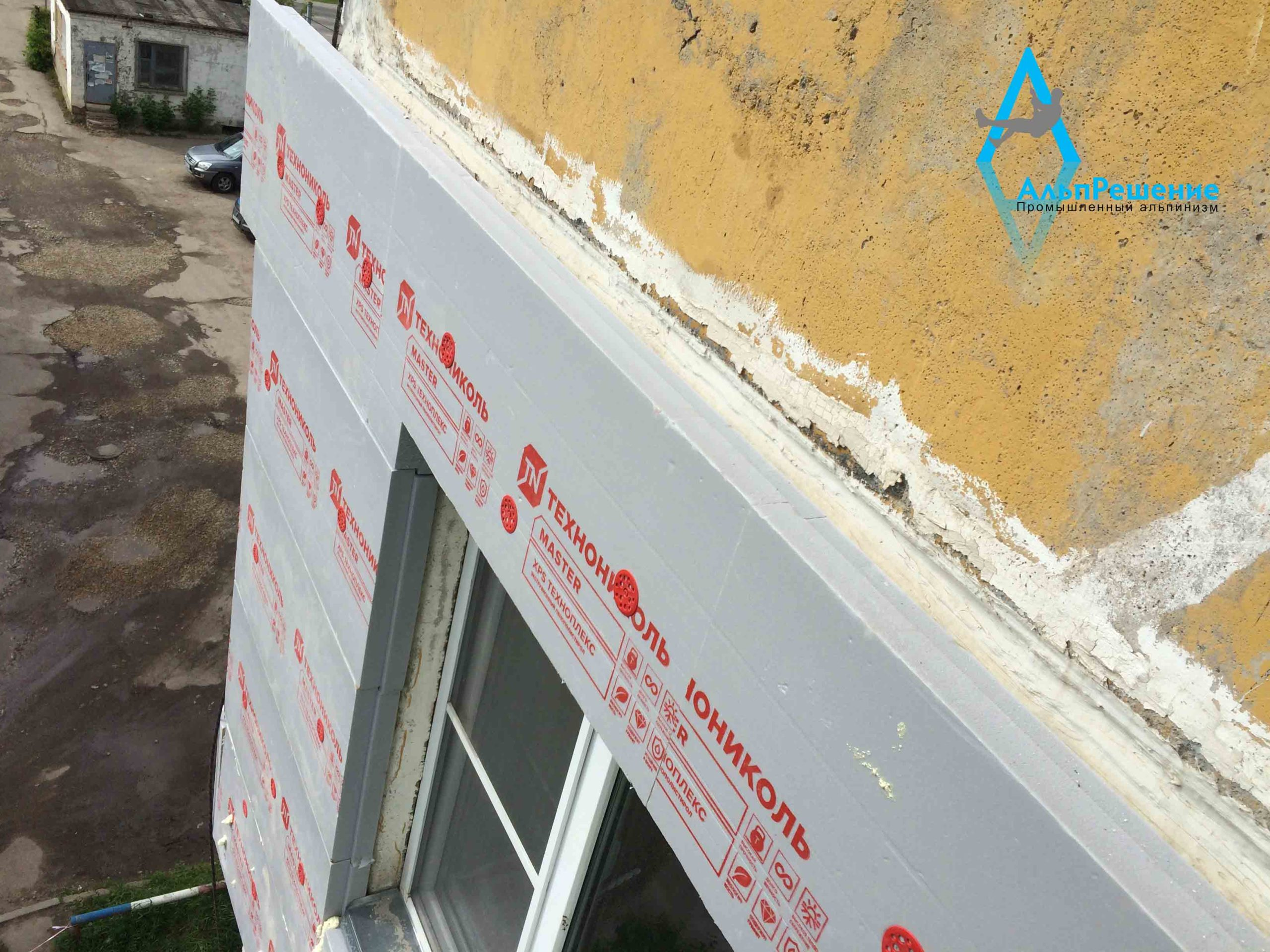 Пеноплекс на фасаде
