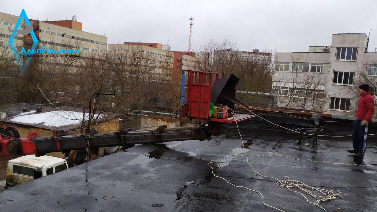 ремонт промышленных дымовых труб